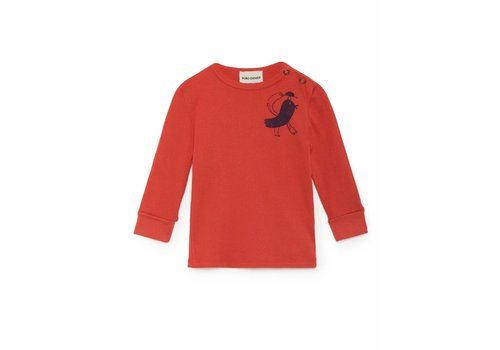 BOBO CHOSES Bird Rib T-Shirt