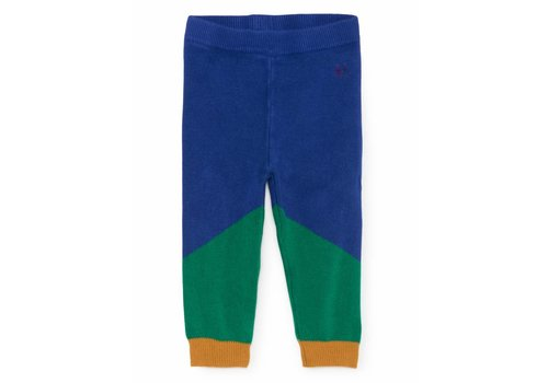 BOBO CHOSES Geometric Knitted Trousers