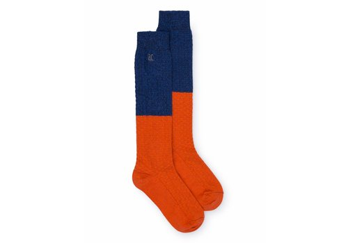 BOBO CHOSES Blue and Red Long Socks