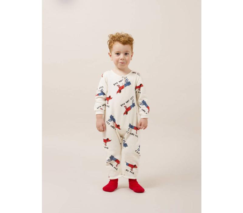 Cats And Dogs Playsuit
