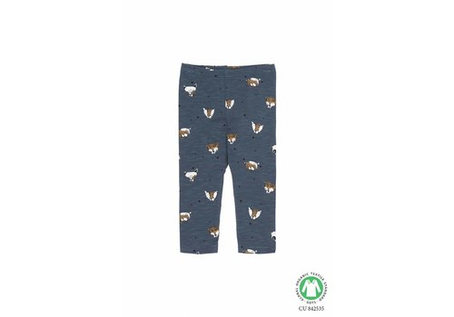Soft Gallery Baby Paula Leggings Orion Blue, AOP Wild