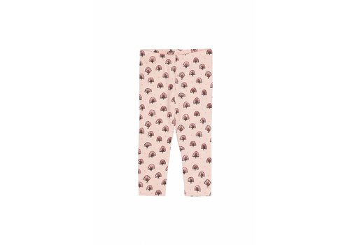 Soft Gallery Baby Paula Leggings Rose Cloud, AOP Tahi