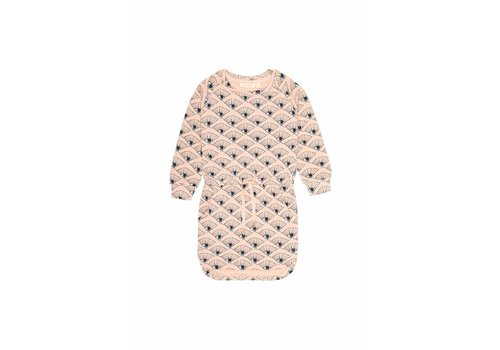Soft Gallery Elsa Dress Rose Cloud, AOP Eyefan