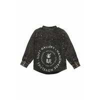 Benito Shirt Peat wash, Japan Logo Stamp