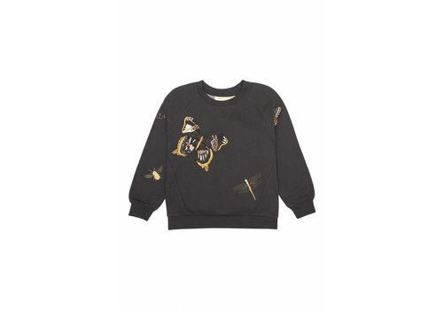 Soft Gallery Babs Sweatshirt Peat, Morphology Emb.