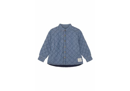 Soft Gallery Baby Vilads Jacket Dark Denim Wash