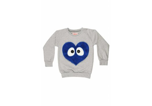BANGBANG Copenhagen Blue Heart Sweater