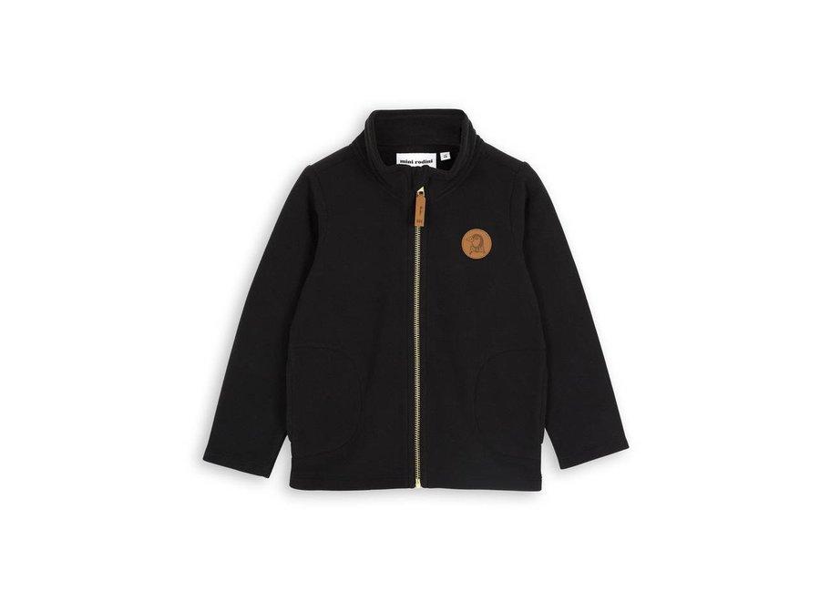 Fleece jacket black