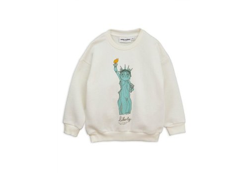 Mini Rodini Liberty sp sweatshirt white