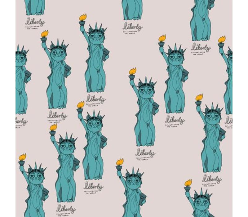 Liberty aop leggings light grey
