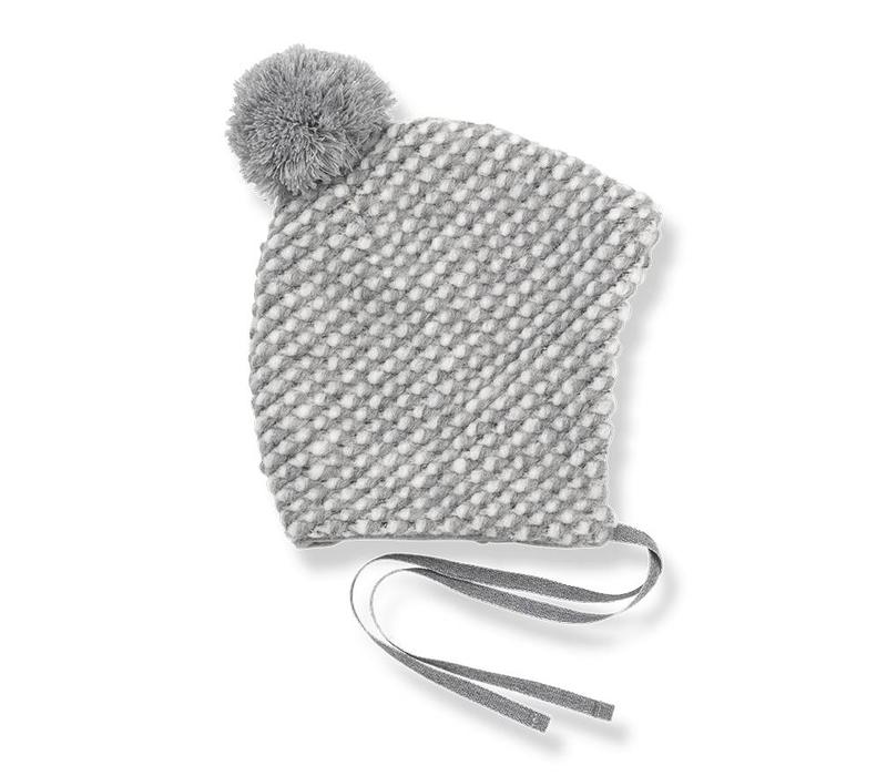 Bea Beanie, Light Grey