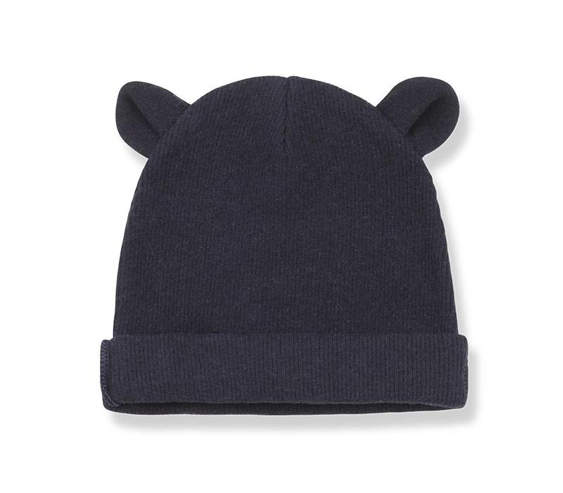 Abel Bonnet w/ears, Blue