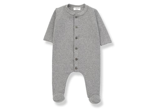 1 + More in the Family Marcello Jumpsuit, Mid Grey