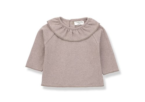1 + More in the Family Clementina Blouse, Rose