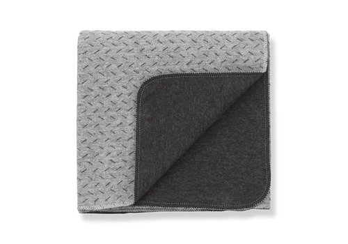 1 + More in the Family Tina Blanket, Anthracite/Grey