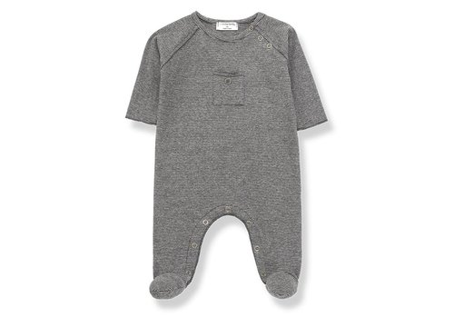 1 + More in the Family Asier Jumpsuit, Anthracite/Grey