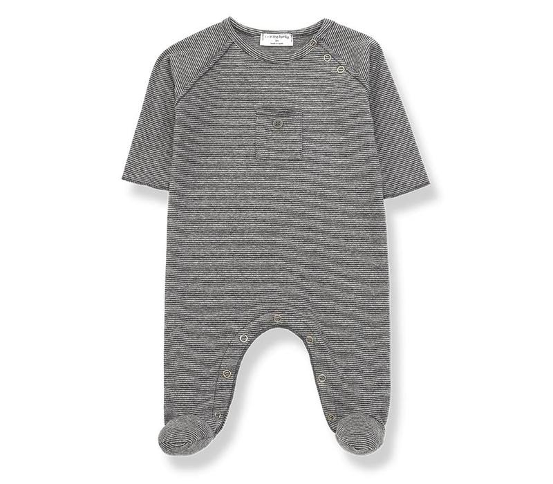 Asier Jumpsuit, Anthracite/Grey