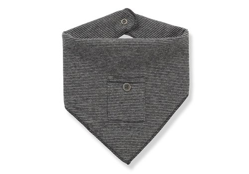 1 + More in the Family Rita Baby Bib, Anthracite/Grey