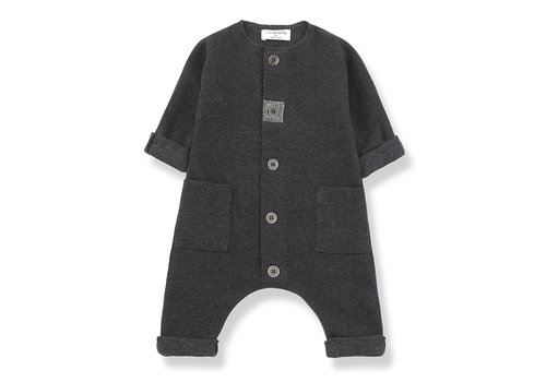 1 + More in the Family Kilian Jumpsuit, Anthracite