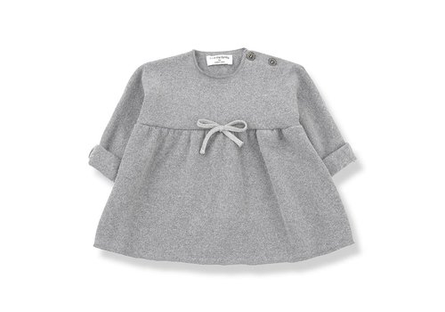 1 + More in the Family Estela Dress, Light Grey