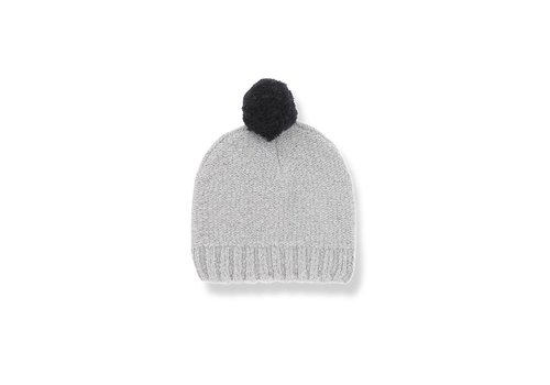 1 + More in the Family Siena Beanie, Light Grey