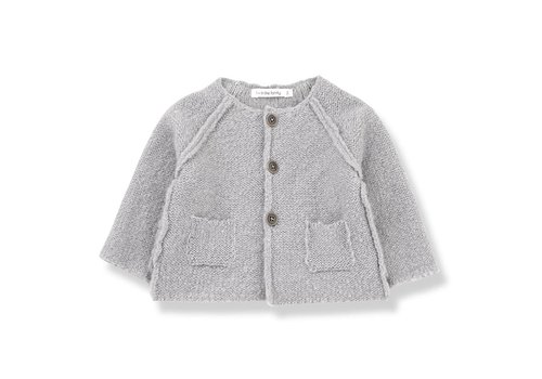 1 + More in the Family Agnes Girly Jacket, Light Grey