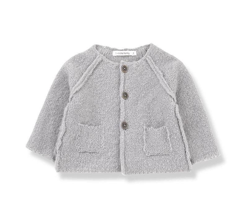 Agnes Girly Jacket, Light Grey