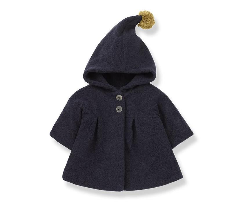 Isabella Coat, Blue