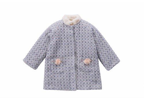 Louise Misha Coat Sinos Blue Sparkle