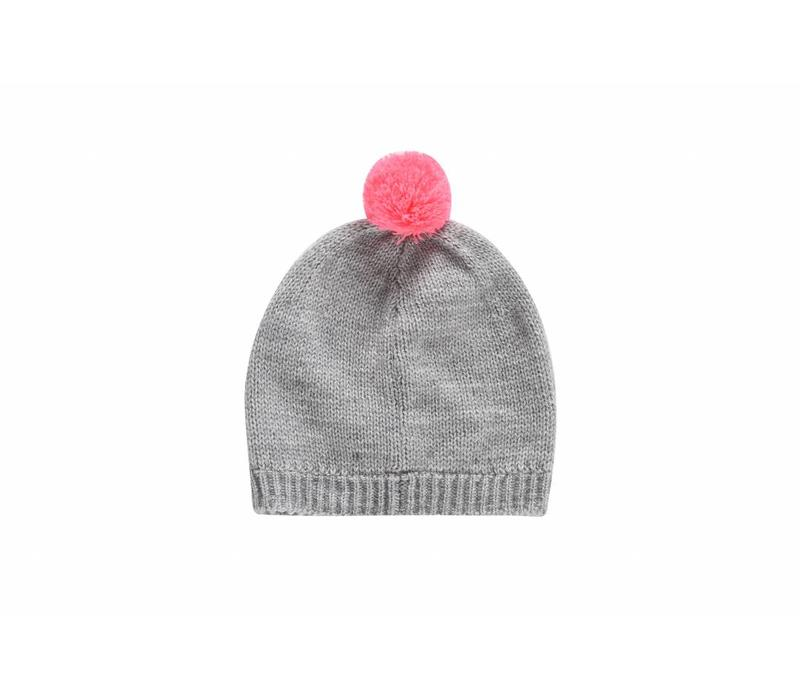 Beanie Dinia Light Grey