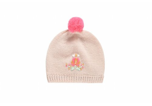 Louise Misha Beanie Dinia Cream