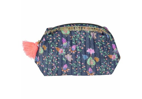 Louise Misha Large Pocket Sonia Blue Pine Cone