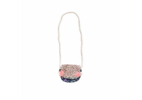 Louise Misha Bag Cimca Blue Pine Cone