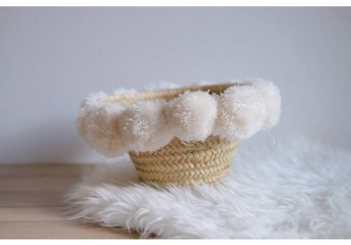 Louise Misha Small Basket Kyrla Cream