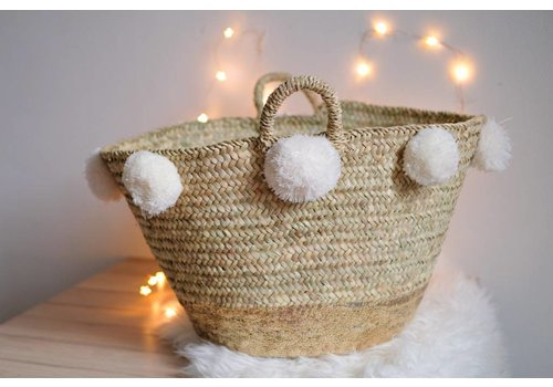 Louise Misha Large Basket Tresor Cream