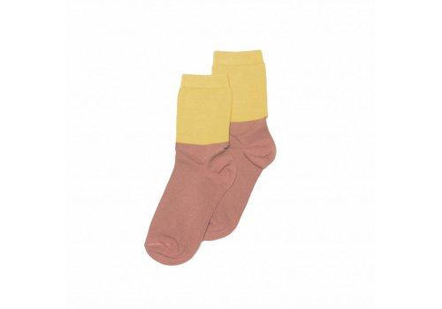 MINGO Socks Raspberry and Sauterne