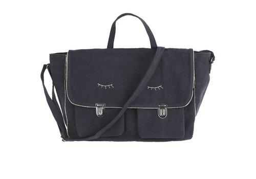 Emile et Ida Ecolier6 Bag, Bitume