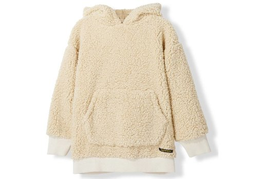 Finger in the nose Yankton Sand Sherpa-Unisex Knitted Oversized Hoody