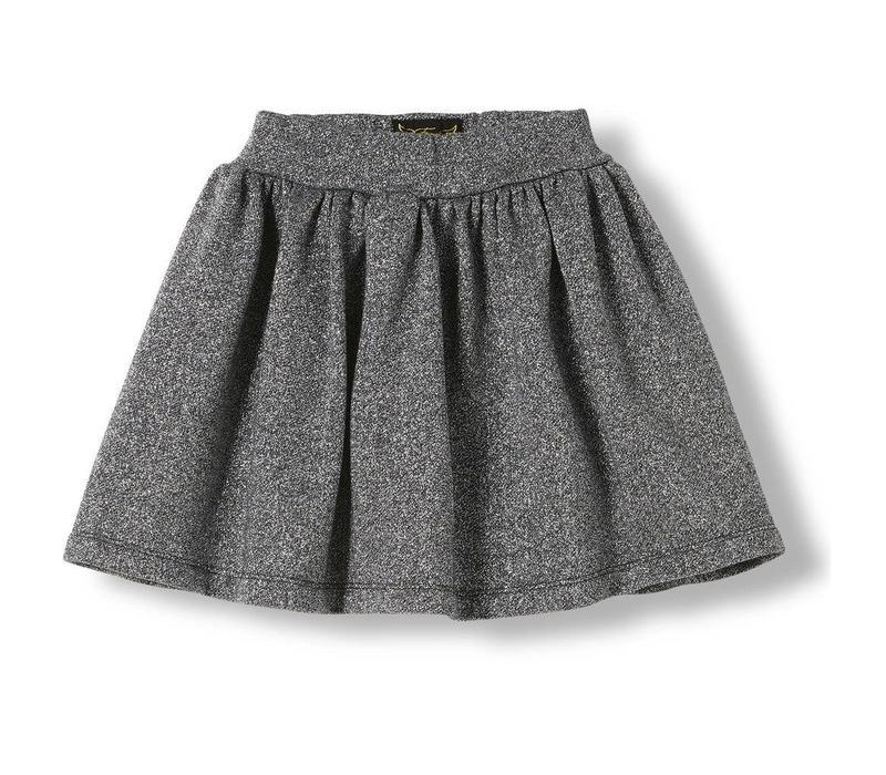 Annix Glitter - Girl Knitted MIni Skirt