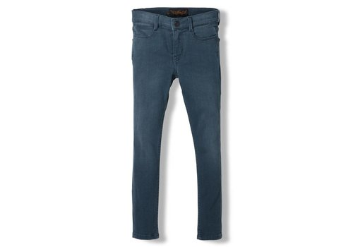 Finger in the nose Tama Steel Blue - Girl Woven Skinny Fit Jeans