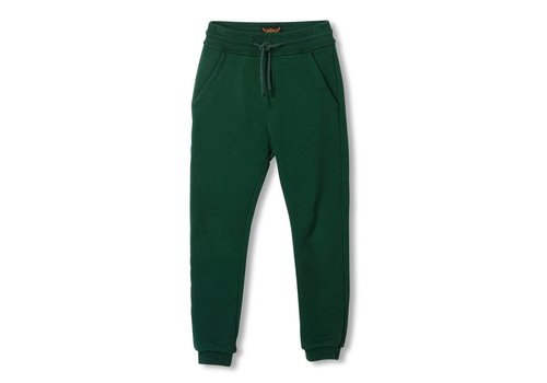 Finger in the nose Sprint College Green - Boy Knitted Fleece Jogging Pants