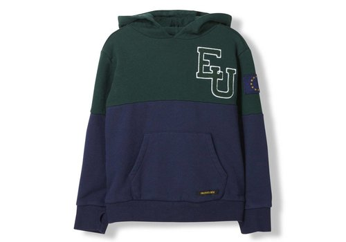 Finger in the nose Melbourne College Green EU - UNisex Knitted Hoody