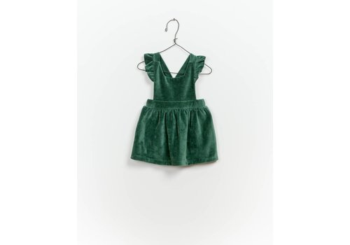 Play up Velvet Dungaree Skirt