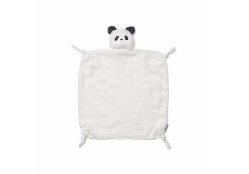 Liewood Agnete cuddle cloth - Panda creme de la creme