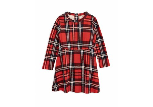 Mini Rodini Check dress red