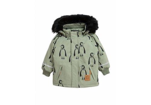 Mini Rodini K2 penguin parka green