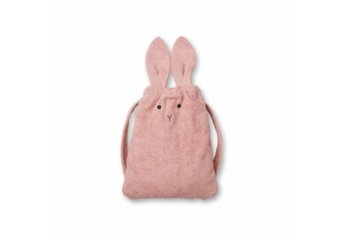 Liewood Thor towel back pack Rabbit Rose