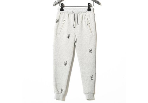 Sometime  Soon Power Sweatpants, Grey Melange