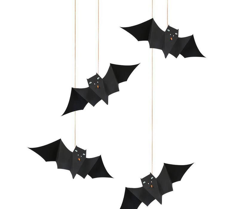 Hanging Bats Decorations ( 8 st)