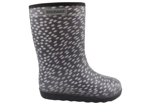 En Fant En Fant Thermo Boot Black / White Dots